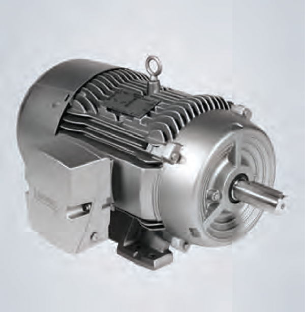 Motor Siemens trifasico 5HP 3/60Hz 900 RPM 8 polos con Brida C