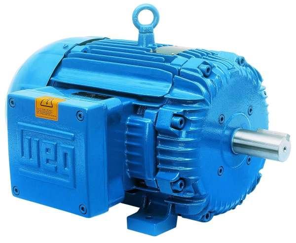 Motor WEG .7509ET3E143TW 0.75HP 900 RPM 3/60hz