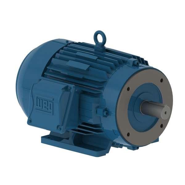 Motor WEG 00112ET3EM145TCW 1HP 1200 RPM CON BRIDA C 3/60hz