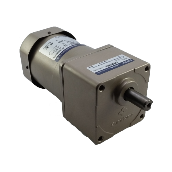Motorreductor pequeño ejes paralelos fraccionario Astero Sumitomo modelo G9B25KH/A9M60BH 60watts 1/12HP 64 RPM