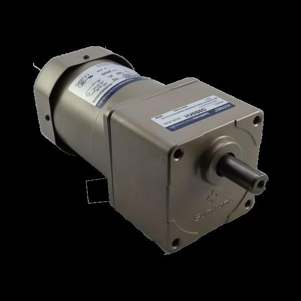 Motorreductor pequeño ejes paralelos fraccionario Astero Sumitomo modelo G9B3.6KH/A9M60BH/G9BXH10H 60watts 1/12HP 44 RPM