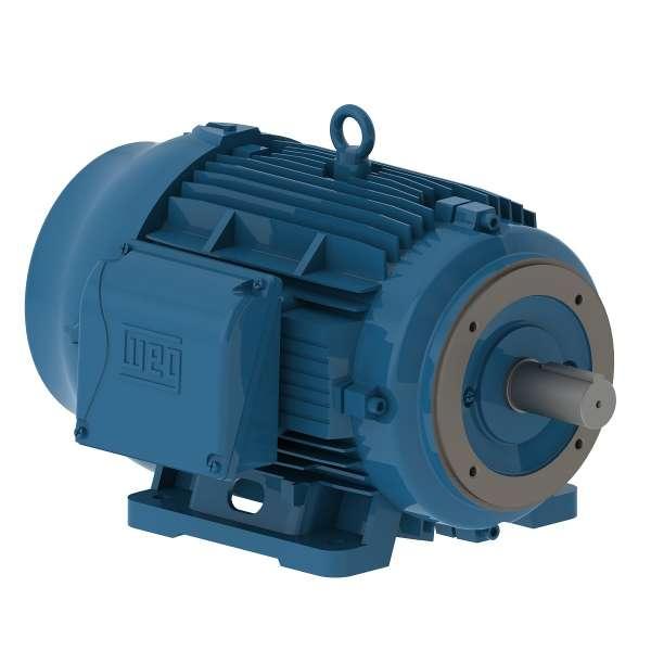 Motor electrico WEG trifasico 02018ET3EM256TCW 20 Hp 1800 RPM 254/6TC
