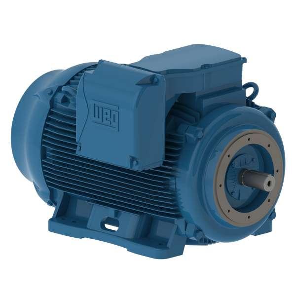 Motor electrico WEG trifasico 07509ET3EM444TCW 75 Hp 900 RPM 444/5TC
