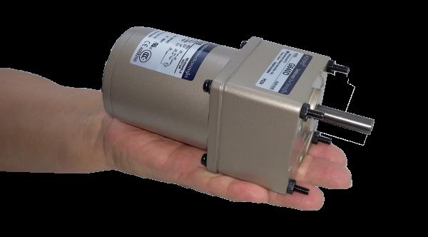 Motorreductor pequeño ejes paralelos fraccionario Astero Sumitomo modelo G610D/A6M06B 6watts 1/125HP 150 RPM